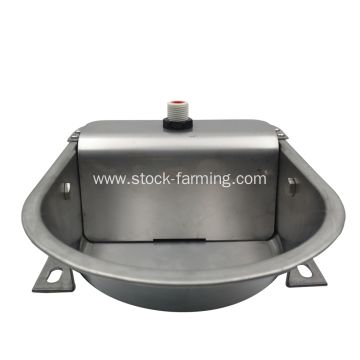 stainless steel drinking water bowl automatic watering